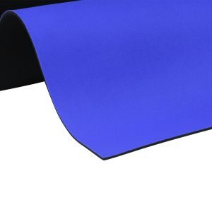 EKI 4102 neoprene with 2 sides nylon royal blue