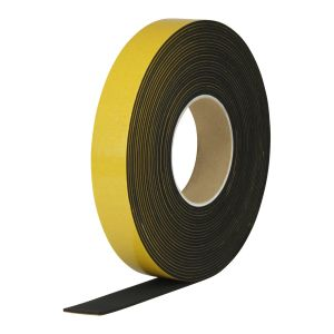 EKI 491 EPDM foam self-adhesive black 40 shore A