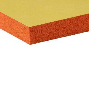 EKI 978 orange sponge self-adhesive NR foam rubber